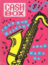OCT 27 1990 CASH BOX music magazine AMOA EXPO 1990 - NEO GEO