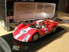 Porsche 906 Carrera 6 #49 1965 Red 1 43 Model 143412 Solido