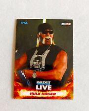 Hulk Hogan TNA Impact Pro Wrestling Trading Card WWE nxt wrestler