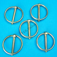 5 x Lynch Pins 5mm dia. pin x 36mm dia. ring - Trailer & Horsebox Linch Pin