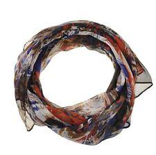 Écharpes et châles multicolore en mousseline pour femme