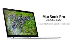 "Apple MacBook Pro 13,3"" Retina ● Core i7-4558U, 512GB SSD, 16GB RAM, QWERTY (US)"