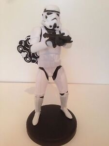 "Stunning 12"" Star Wars Storm Trooper  bubble bath OFFICIAL 3D figurine"