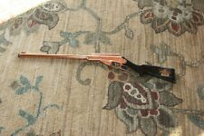 1936 Daisy Copper Plated Model 50 Golden Eagle Lever Action Repeater BB Gun Rare