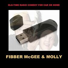 ENJOY FIBBER McGEE & MOLLY IN YOUR CAR OR HOME. 1087 FUNNY OLD TIME RADIO SHOWS!