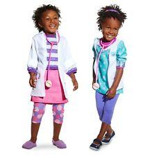 Doc Mc Stuffin Vet/Doctor 2-in1 Costumes w/Stethoscope Size 4 DISNEYSTORE BNW