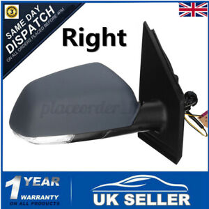 WUXUN-Wing Mirror Cover Left//Right Side Mirror Case For Volkswagen For VW Polo 2009-2017 Side Door Wing Mirror Cover Caps Shell Painted Black Size : 1Pair