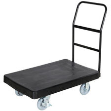 "Lavex 36"" x 24"" Platform Truck Handle Cart Dolly Commercial Material Handling"