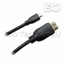 10 ft Micro HDMI TV Cable for ASUS X205T X205TA UX305LA Zenbook laptop notebook
