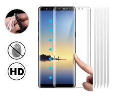 5x Samsung Galaxy Note 8 [FULL COVERAGE] Clear TPU Screen Protector Guard Covers