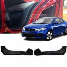 Carbon Door Decal Sticker Cover Kick Protector For KIA 2010-13 Cerato Forte Koup