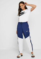 Nike Damen Hose W Windrunner Popper Pants Blau AR3082-493 Training Sport Neu S