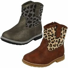 Synthetic Animal Print Ankle Women's Boots