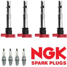 Ignition Coil & NGK Spark Plug For Audi TT A4 VW Golf Jetta GTI 2.0L 2.0T UF529