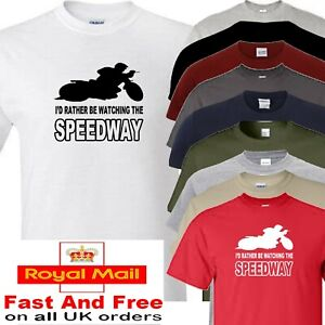 Speedway T Shirt I'd Rather Be Watching Speedway Fathers Day Gift