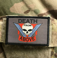 Death from Above Starship Troopers Patch Tactical Military Army Flag Badge USA