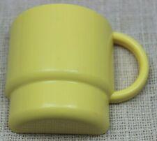 Tupperware® Magnet gelbe Tasse schöner Zustand