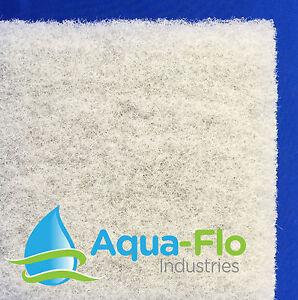 "1 Aqua-Flo 2"" Beige Pond Filter Mat Media Pad 14""x 24"" water garden-skimmer-fish"