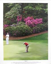 """Arnold Palmer Unsigned """"Amen"""" Augusta National 13x16 Poster US#1051"""