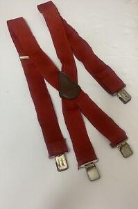 Carhartt Suspenders Work Red