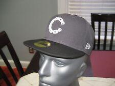 MENS Crooks & Castles CROOKS Chain C PAISLEY Hat GRAY/Black SIZE 7 1/2  NWT $40