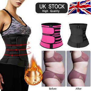 Waist Trainer Trimmer Women Sweat Belt Sports Body Shaper Slimming Shapewear