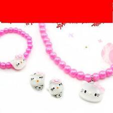 NIP KIDS hello kitty pendants necklace set