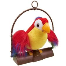 Talking Back Parrot  Toy It Imitates What You Say