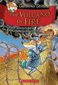 Geronimo Stilton and the Kingdom of Fantasy #5: The Volcano of Fire HB 1st ed.,