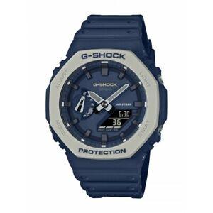 Casio G-Shock Earth Tone Special Navy Dark Blue Colour Watch GShock GA-2110ET-2A