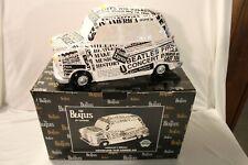 Vandor 1998 BEATLES Newspaper TAXI Cookie Jar