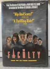 The Faculty (DVD, 2011) RARE HORROR SALMA HAYEK JOSH HARTNETT BRAND NEW