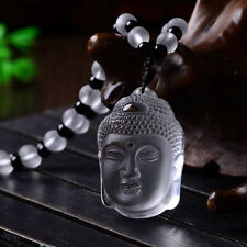 Natural White Crystal Necklace Pendant Chinese Fashion Delicate Lucky Amulet Hot
