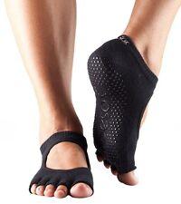 ToeSox Half Toe Bellarina Pilates Yoga Dance Non Slip Grip Exercise Socks