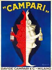 CAMPARI pubblicità dell'alcol. 1921 ART PRINT posterhome Decor bb8062b