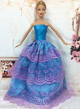 girls toy doll BARBIE dress party new princess dresses costume outfit set BC22