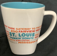 Listing (1) Dunkin Donuts Destinations ST LOUIS Coffee Mug Cup 2016.