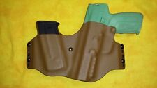 HOLSTER SMALL OF BACK WITH EXTRA MAG COYOTE KYDEX FN 5.7 MK2 FIVE SEVEN HERSTAL