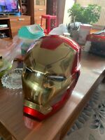 Captain America Civil War 1/1 Iron Man MK46 Helmet Automatic On-off Wearable