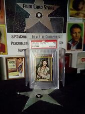 1935 Gold Dollar Film Star Card #53 KATHERINE HEPBURN PSA AFI'S Top 100 Actors
