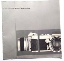 Vintage 1970 LIFE LIBRARY OF PHOTOGRAPHY Camera Buyers Guide 13 Pages