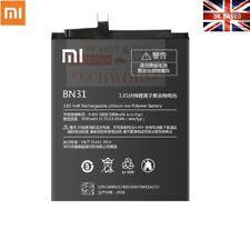 New Genuine Xiaomi BN31 Battery for Xiaomi Mi 5X Mi A1 Redmi Note 5A 5A pro UK