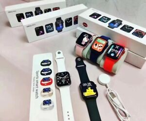 Series 6 HW22 Pro Smart watch Full HD Fitness ECG Wireless Charge Gym Games Run