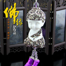 Car Mirror Pendant  Decor Buddha Hanging Ornament Decoration Auto Accessories