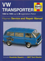 VANAGON SHOP MANUAL SERVICE REPAIR BOOK HAYNES VOLKSWAGEN TRANSPORTER 1982-1990