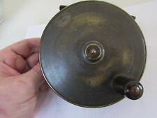 "A1 vintage Turnbull Edinburgh malloch brass platewind salmon fishing reel 4.5"""