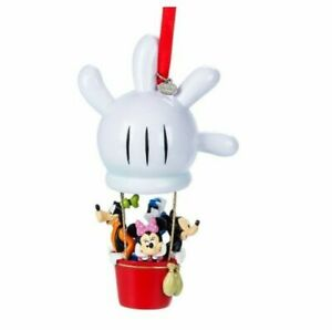 Disney Mickey Mouse and Friends Hot Air Balloon Hanging Ornament Xmas Christmas