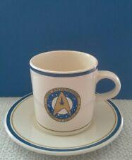 PFALTZGRAFF 1993 Star Trek USS Enterprise NCC 1701 A 2 Piece Cup Saucer Set