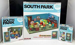 South Park Mr. Garrison's Classroom Construction PC Principal set Mcfarlane