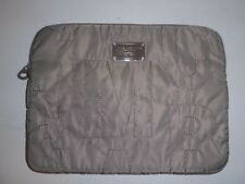 MARC BY MARC JACOBS GREY PADDED LAPTOP CASE SCRAMBLED LOGO